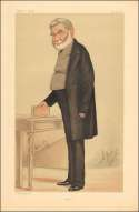 Vanity Fair Print : Sir Anthony Panizzi  1874
